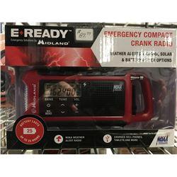 MIDLAND EMERGENCY COMPACT CRANK RADIO