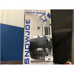 "SNOW JOE 11""/10AMP ELECTRIC SNOW SHOVEL"