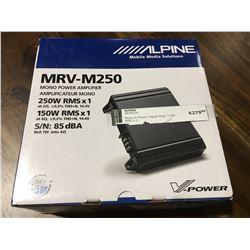 ALPINE MRV-M250 MONO POWER AMPLIFIER