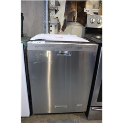 STAINLESS STEEL KITCHENAID BUILT-IN DISHWASHER