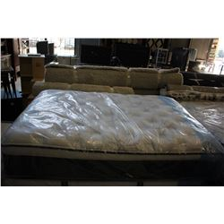 QUEEN SIZE SERTA BEAUTYREST RECHARGE PLUSH PILLOWTOP MATTRESS