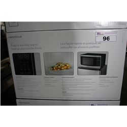 STAINLESS STEEL 1.2 CU FT INSIGNIA MICROWAVE OVEN