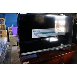 "55"" TOSHIBA TV - LINE ON SCREEN"