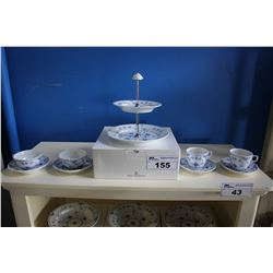 ROYAL COPENHAGEN 21-PIECE CHINA SET