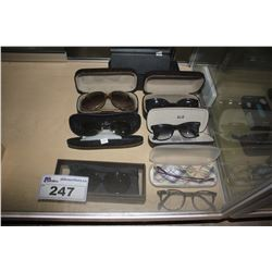 LOT OF ASSORTED DESIGNER SUNGLASSES