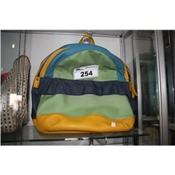 MULTI-COLOR BURBERRY DESIGNER BACKPACK