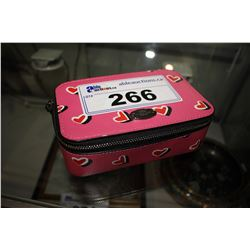 PINK COACH TRAVEL ORGANIZER