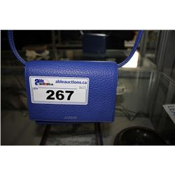 BLUE AUXILIARY PURSE