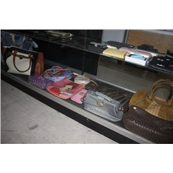LARGE LOT OF DESIGNER PURSES AND BAGS