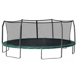 SKYWALKER 15FT ROUND TRAMPOLINE WITH 6 FT ENCLOSURE COMBO 15 SERIES (2 BOXES)