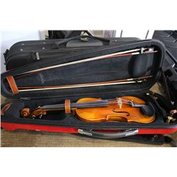 VIOLIN IN RED CASE