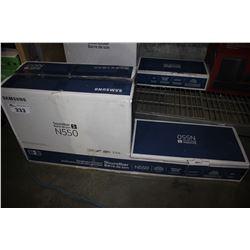 SAMSUNG N550 SOUNDBAR AND SUBWOOFER
