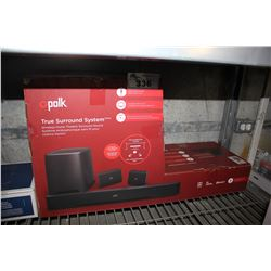 POLK TRUE SURROUND SYSTEM
