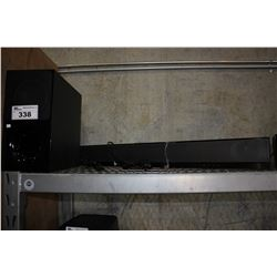 SONY SUBWOOFER AND SOUNDBAR