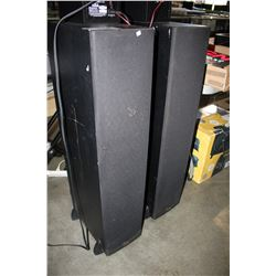 2 KLIPSCH TOWER SPEAKERS