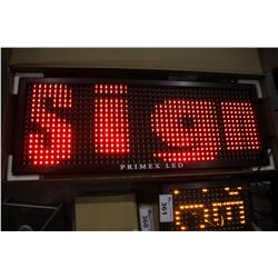 "PRIMEX LED 40"" PROGRAMMABLE LED MESSAGE BOARD (R/G/Y)"