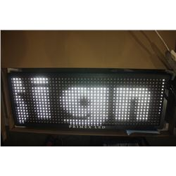 PRIMEX LED 40  PROGRAMMABLE LED MESSAGE BOARD (R/W/P)