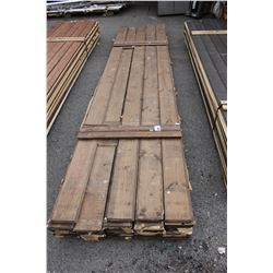 "LIFT OF 1"" X 8"" TONGUE & GROOVE LUMBER"
