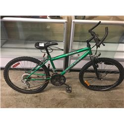 GREEN SUPERCYCLE ANVIL MOUNTAIN BIKE
