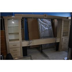 LARGE HEADBOARD UNIT FOR KING BED