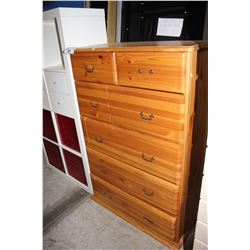 SIX DRAWER DRESSER AND CUBBY UNIT