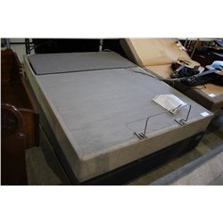 QUEEN SEALY POSTUREPEDIC OPTIMUM UP ELECTRIC ADJUSTABLE BED FOUNDATION WITH REMOTE
