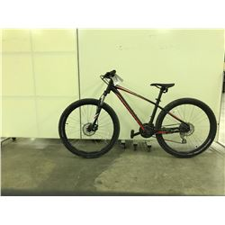 BLACK SPECIALIZED PITCH FRONT SUSPENSION 21 SPEED MOUNTAIN BIKE
