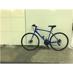 BLUE CCM 21 SPEED ROAD BIKE