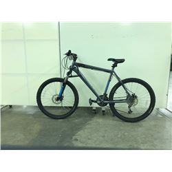 GREY NORCO KATMANDU FRONT SUSPENSION 21 SPEED MOUNTAIN BIKE
