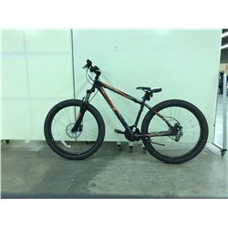 DARK BLUE MONGOOSE TERREX FRONT SUSPENSION ALL TERRAIN 21 SPEED MOUNTAIN BIKE
