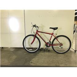 RED TELLURIDE INFINITY 21 SPEED MOUNTAIN BIKE