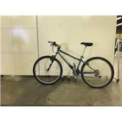 BLUE BRODIE FRONT SUSPENSION 18 SPEED MOUNTAIN BIKE
