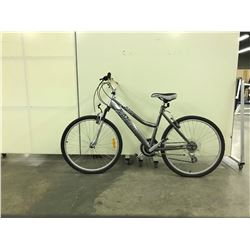 GREY INFINITY SUPERIOR FRONT SUSPENSION 21 SPEED MOUNTAIN BIKE