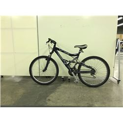 BLUE INFINITY FULL SUSPENSION 21 SPEED MOUNTAIN BIKE