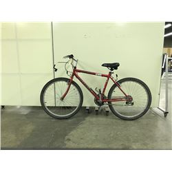 RED TELLURIDE INFINITY 18 SPEED MOUNTAIN BIKE