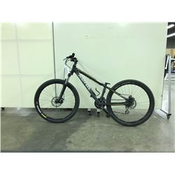 GREY KONA FRONT SUSPENSION 21 SPEED MOUNTAIN BIKE - NO SEAT