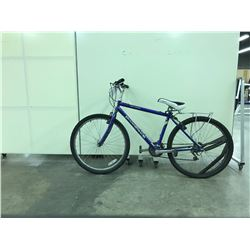 BLUE DIAMONDBACK 21 SPEED MOUNTAIN BIKE WITH DAMAGE PRESENT
