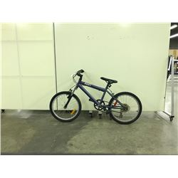 BLUE RALEIGH RAVE FRONT SUSPENSION KIDS MOUNTAIN BIKE