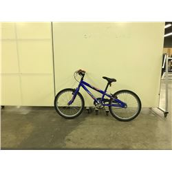 BLUE NORCO VIPER SINGLE SPEED KIDS BIKE