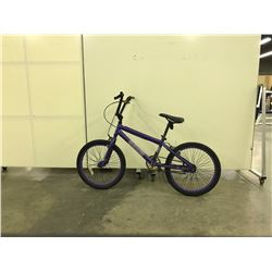PURPLE NO NAME KIDS BIKE SINGLE SPEED