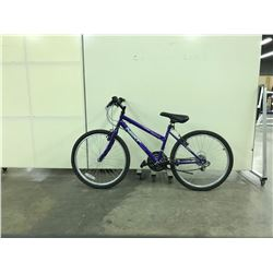 PURPLE NEXT HIGHPEAK 18 SPEED MOUNTAIN BIKE
