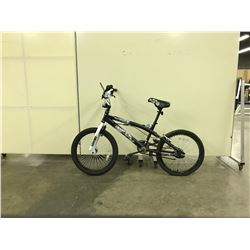BLACK SUPERCYCLE CHAOS SINGLE SPEED STUNT BIKE