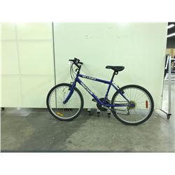 BLUE SUPERCYCLE SP1800 18 SPEED MOUNTAIN BIKE