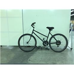 BLACK NO NAME 18 SPEED ROAD BIKE