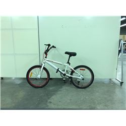WHITE REEBOK STUNT BIKE