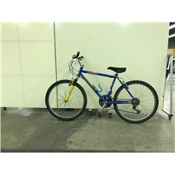 BLUE 18 SPEED RALEIGH TARANTULA FRONT SUSPENSION MOUNTAIN BIKE