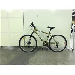GOLD CCM SCOUT FRONT SUSPENSION 21 SPEED MOUNTAIN BIKE
