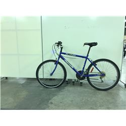 BLUE SUPERCYCLE 19 SPEED MOUNTAIN BIKE