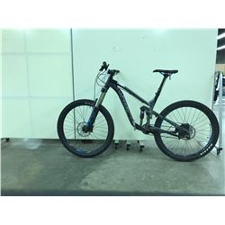 BLACK AND GREY NORCO RANGER FULL SUSPENSION 10 SPEED MOUNTAIN BIKE