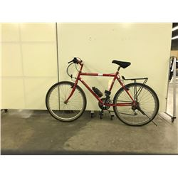 RED FIORI ADVENTURA 18 SPEED HYBRID BIKE